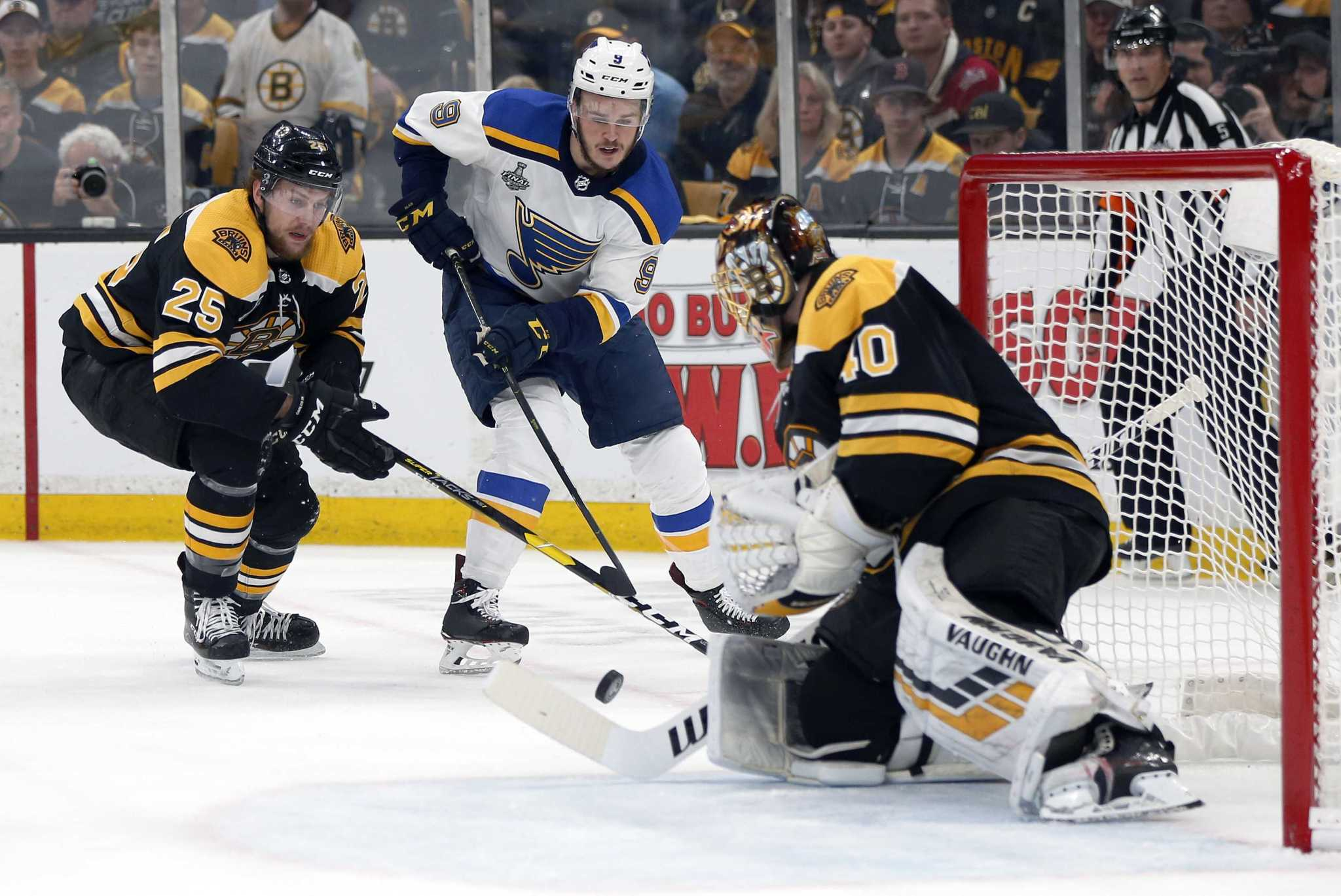 St Louis Blues Defeat Boston Bruins Winning Their First Stanley Cup Connecticut Post