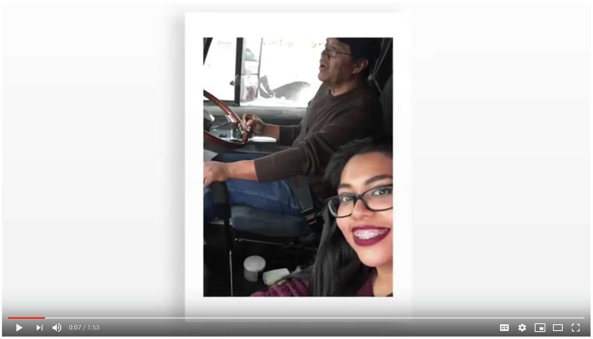 Her father owned his own trucking company but had to close his business when the trade industry took a turn, she explains in her campaign video.