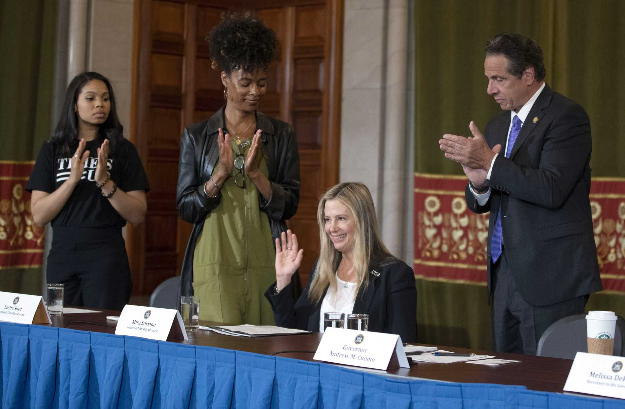 Cuomo signs off on new workplace harassment protections