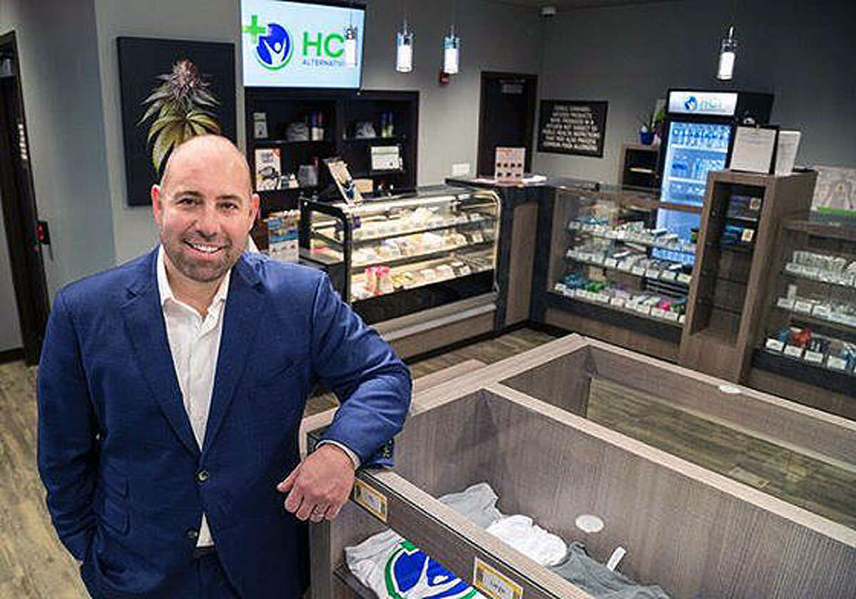 Chris Stone, CEO of Springfield and Collinsville medical cannabis dispensary HCI Alternatives.