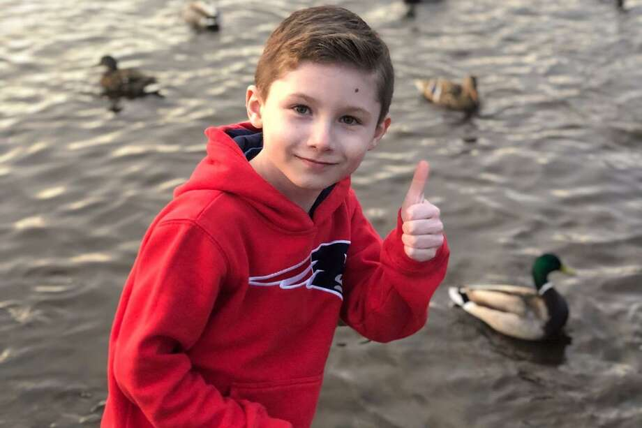 A 7-year-old Connecticut boy was so touched by the search for Jennifer Dulos, the missing mother of five who disappeared May 24, that he started a fundraising effort to pay for tips leading to solid information in the case. Riley Daigle, of Wethersfield, has started a GoFundMe page to raise $5,000 and is donating the $500 he saved in the hopes of offering a reward for anyone who provides information to police that leads to finding Jennifer Dulos or a conviction in the missing persons case, a post on the GoFundMe site said. His mother said he intended to use his savings for an August birthday trip to Disney World. Photo: GoFundMe Page Photo