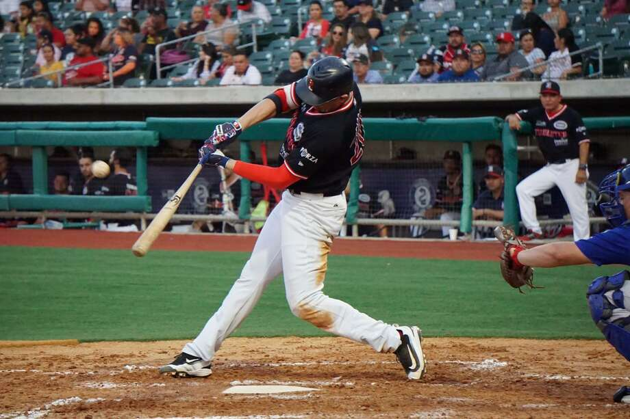 Rudy Flores had a two-run homer in the Tecolotes' 11-3 loss Saturday to Oaxaca. Photo: Courtesy Of The Tecolotes Dos Laredos /file