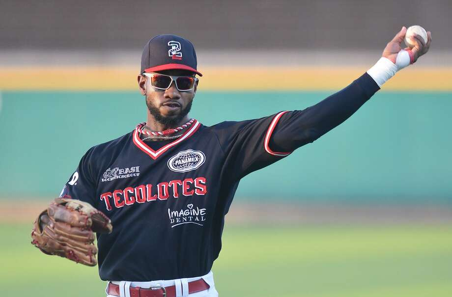 Tecolotes Dos Laredos right fielder Domonic Brown is tied for fourth in the LMB with 19 home runs and 11th with 56 RBIs. Photo: Cuate Santos / Laredo Morning Times / Laredo Morning Times