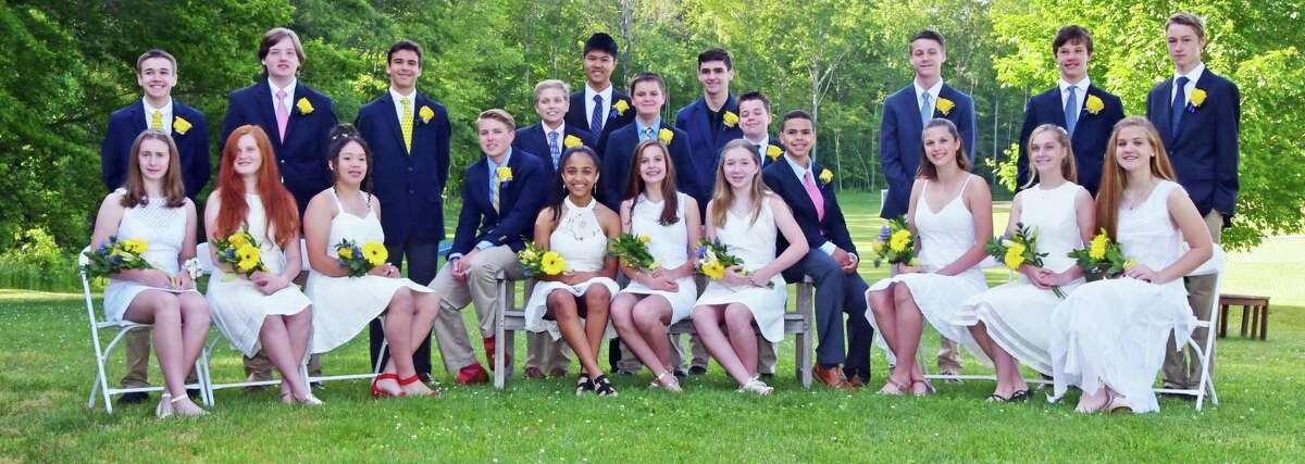 The Country School of Madison graduated 22 students June 12, including several from Middlesex County towns.