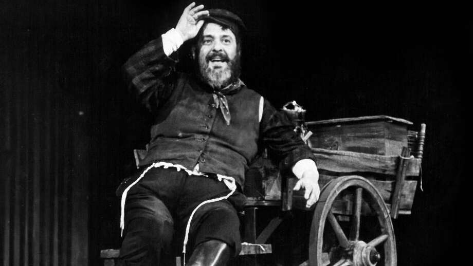 "Zero Mostel in the original Broadway production of ""Fiddler on the Roof."" Photo: Contributed Photo"