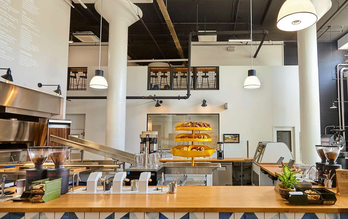 Daily Driver, a new creamery and bagel bakery, with coffee roasting from Red Bay in Oakland on site, opened Thursday in the Dog Patch.