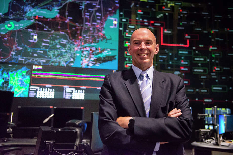 Richard Dewey, CEO of New York Independent System Operator, NYISO, poses for a portrait in the NYISO control center on Thursday, June 13, 2019 in Rensselaer, N.Y. NYISO is the entity that oversees the electrical grid in New York state. (Catherine Rafferty/Times Union) Photo: Catherine Rafferty, Albany Times Union / © 2018 Catherine Rafferty All Rights Reserved