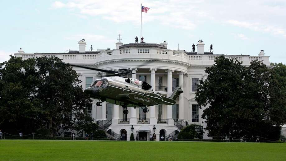 The VH-92A helicopter completed operational testing that included operating on the south lawn of The White House in September 2018. Photo courtesy of the U.S. Marine Corps. Photo: Sgt. Hunter Helis Contributed Photo / Contributed Photo / Public Domain
