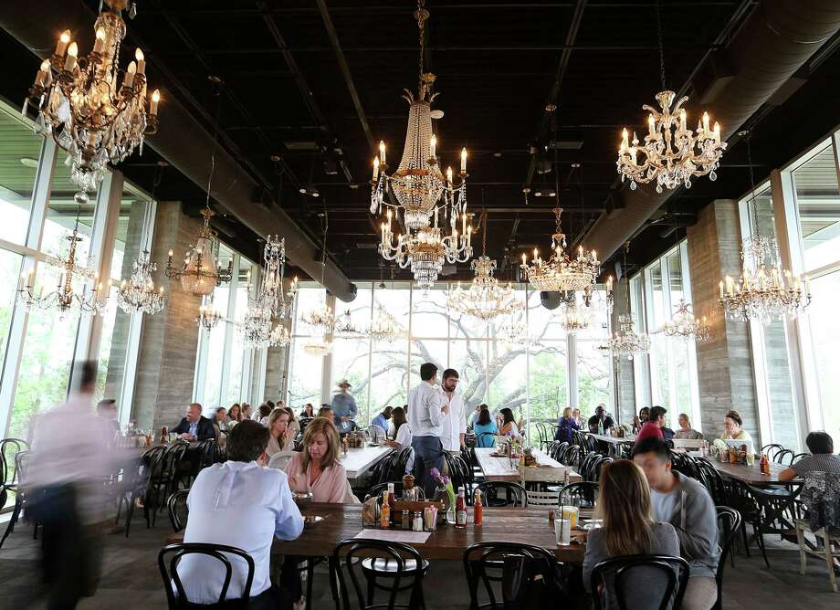 The dining at The Dunlavy, a private events space off of Allen Parkway at Buffalo Bayou offering breakfast and lunch daily. The Dunlavy will expand into dinner service in January 2020. In doing so it will no longer be available for booking as a private event space. Photo: Elizabeth Conley, Houston Chronicle / © 2016 Houston Chronicle