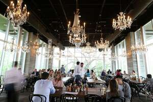 The dining area of The Dunlavy, a private events space off of Allen Parkway at Buffalo Bayou, which is opened for breakfast and lunch on Tuesday, March 8, 2016, in Houston.