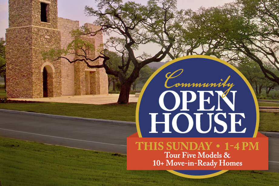 Sponsored by The Lookout Group  VIEW DETAILS for 100 Esperanza Blvd, Boerne TX, 78006 When: Jun/16 01:00pm 4:00pm  Esperanza is Boerne's first true master-planned community featuring artful details and unbeatable resort-style amenities. Join us this Sunday from 1-4 PM for a Community Open House featuring 5 model homes and 10+ Move-in-Ready homes ranging from the $280s to $1 Million+. Learn more and search available homes at MyEsperanza.com, or schedule a Private Community Tour with Connie@MyEsperanza.com. Photo: Photo Provided By The Lookout Group