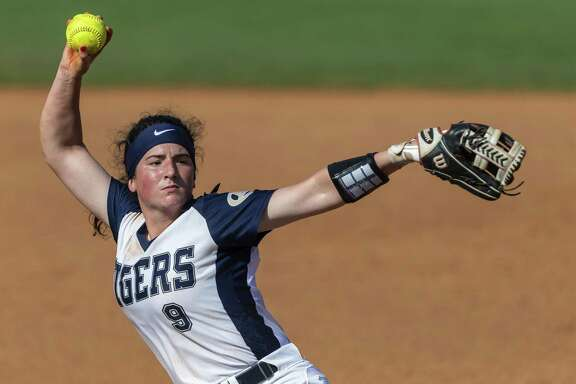 Klein Collins senior pitcher Kenedy Hines (9) was named the 2018-19 District 15-6A Most Valuable Player.
