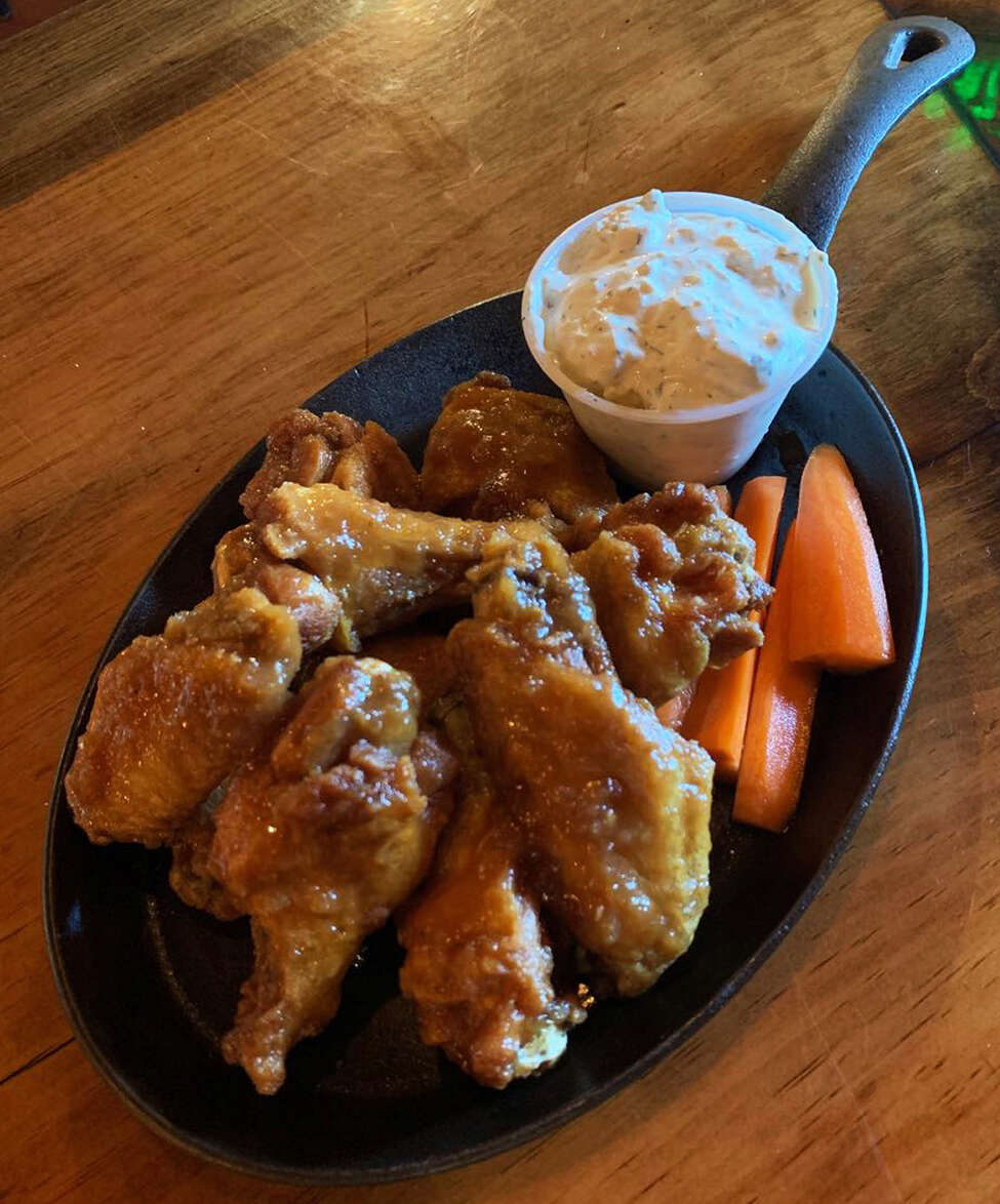 Chicken wings at M&M's Tap and Tavern in New Lebanon. (Provided photo.)