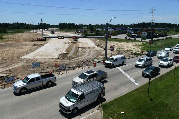 Construction along Holderrieth Road and 249 continues on June 12, 2019.
