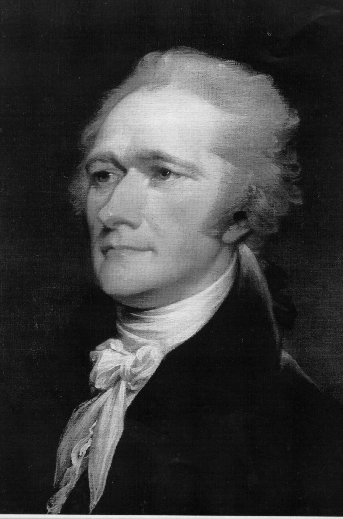 A portrait of Alexander Hamilton by John Trumbell. What the Constitution states is widely unknown by Americans - leaving foothold for politicians to manipulate the population.
