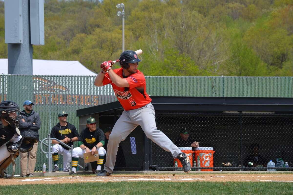 CBA graduate Justin Decker of the Dominican College baseball team. (Courtesy of Dominican College Athletics)
