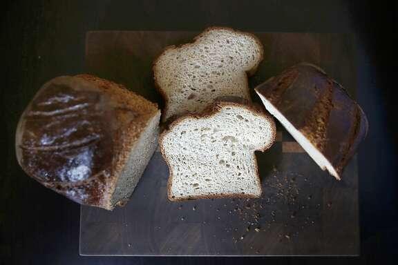 Gluten-free bread at Ducks & Dragons bakery on Friday, September 22, 2017, in San Carlos, Calif.