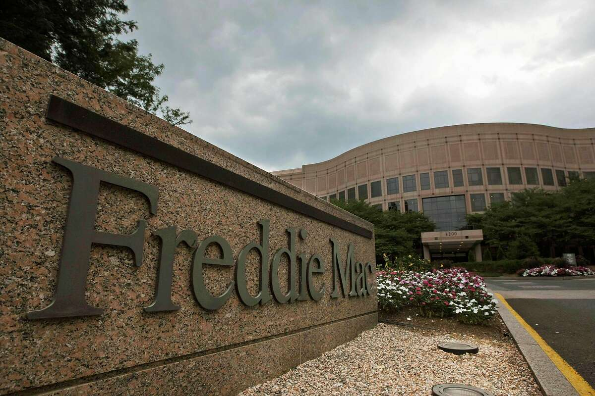 ** FILE ** In this July 13, 2008 file photo, Freddie Mac Corporate Office are seen in McLean, Va. The Bush administration, acting to avert the potential for major financial turmoil, on Sunday, Sept. 7, 2008 announced that the federal government was taking control of mortgage giants Fannie Mae and Freddie Mac. (AP Photo/Pablo Martinez Monsivais, file)