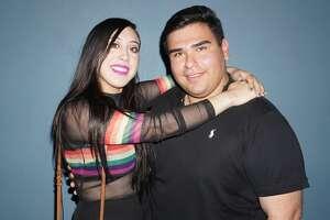 Josie Ortiz and Abram Espinoza at Siete Banderas