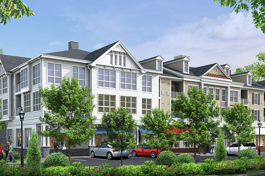 Revised Wilton Heights rendering from Wilton Heights LLC.