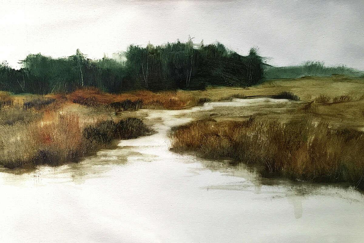 Quietude, an oil painting by Susan Leggitt.