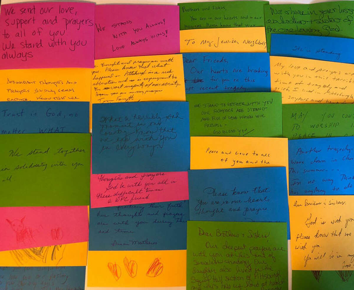 Messages offering prayers, encouragement and love.
