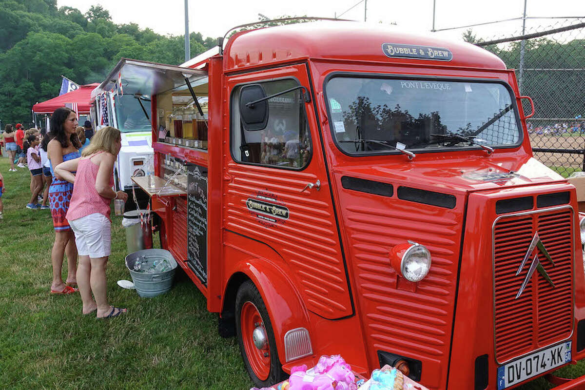 Bubble and Brew's vintage French Citroen Fire Engine
