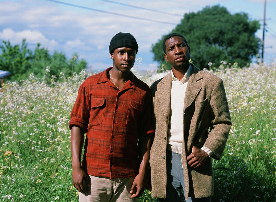 "Jimmie Fails, left, and Jonathan Majors in ""The Last Black Man in San Francisco."" Photo: Laila Bahman, A24 / © A24"