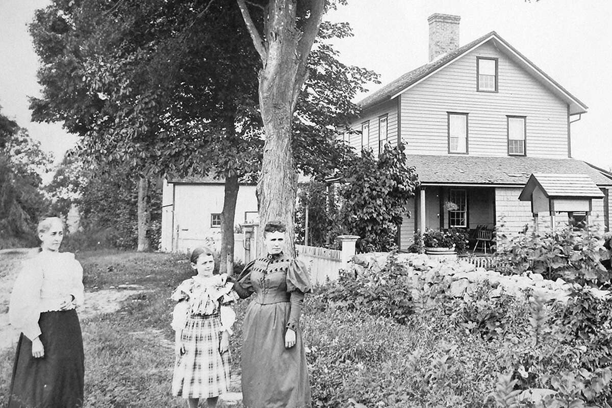 846 Ridgefield Road in the 1880s.