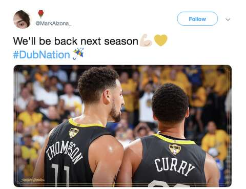 Warriors fans are blaming injuries for NBA Finals loss, as