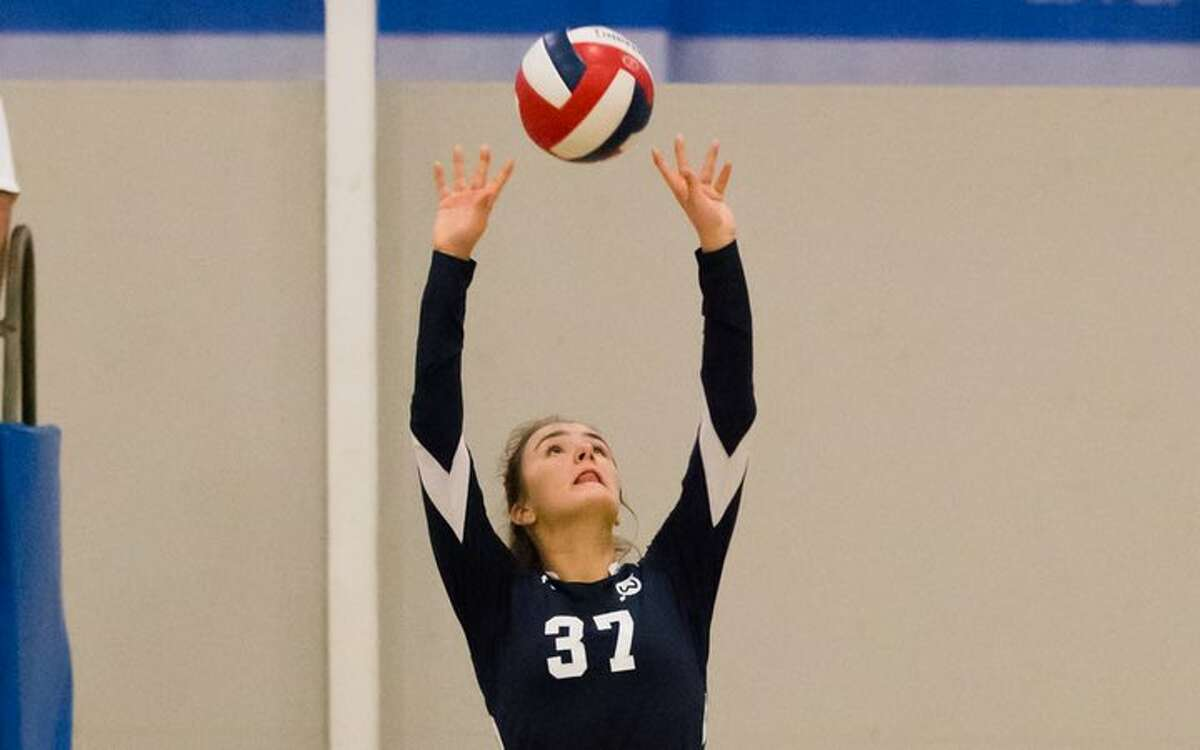 Juliana Musilli is a senior captain for this year's Wilton High girls volleyball team.