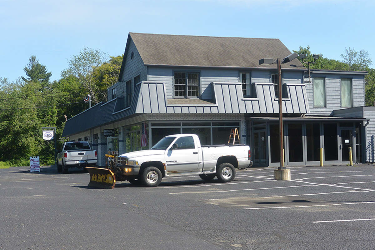 A view of an unused former vehicle dealership on Route 7. - Tony Spinelli photo