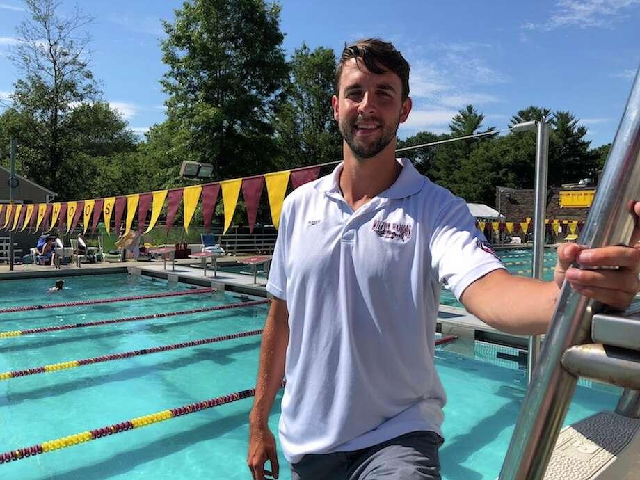 Joe Bonk has been named as assistant senior coach for the Wilton Y Wahoos swim program.