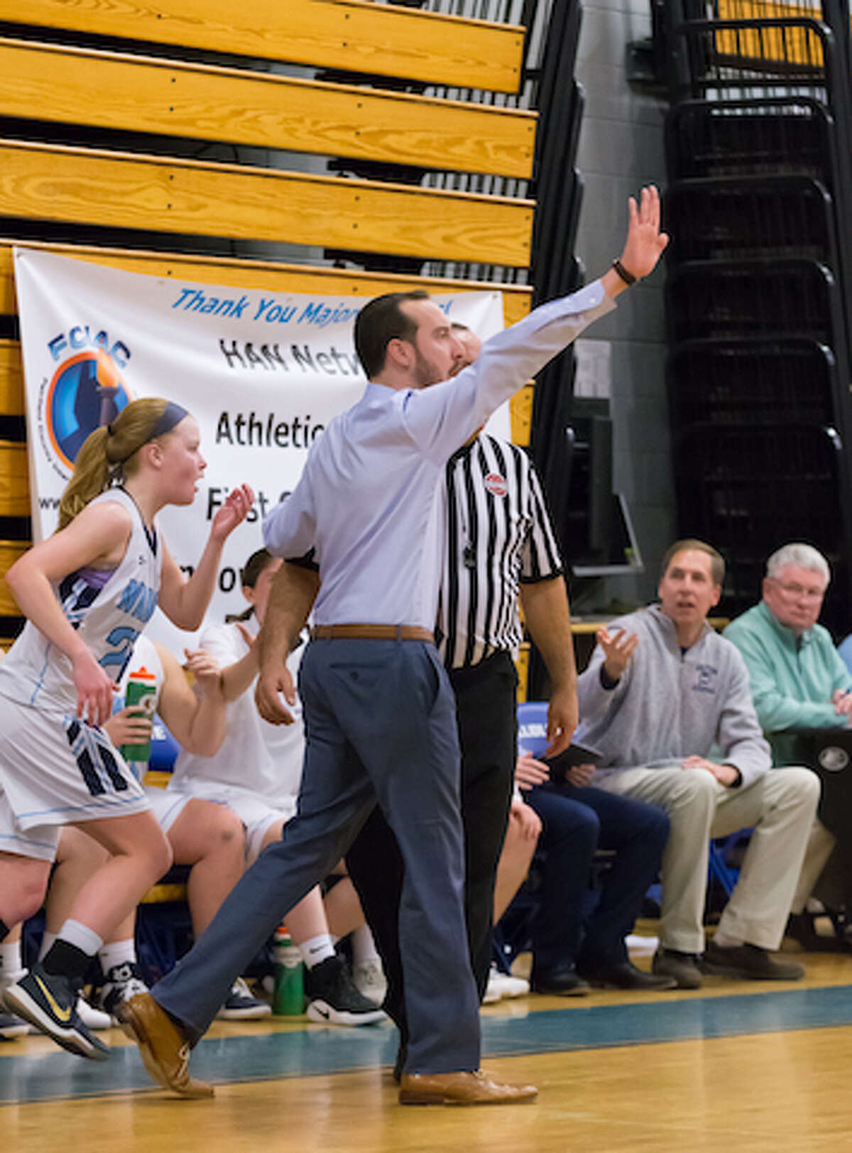 After three seasons, Rob Coloney has resigned as head coach of the Wilton High girls basketball team. - GretchenMcMahonPhotography.com