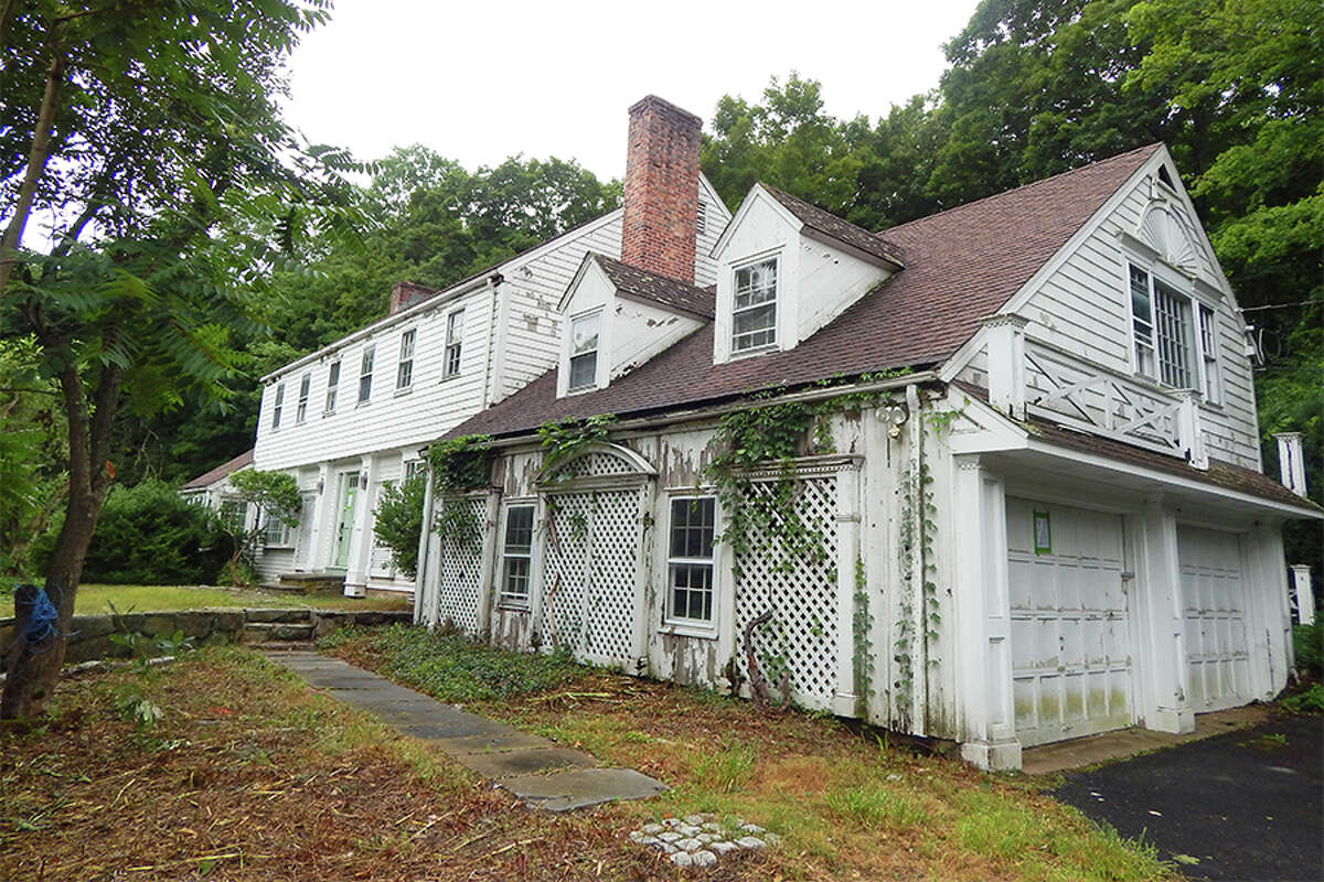 The 49-year-old home at 239 Olmstead Hill Road.