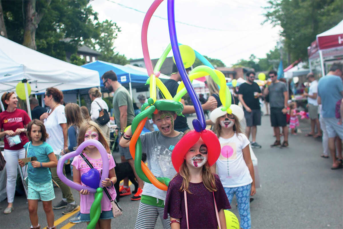Wilton's Street Fair and Sidewalk Sale takes place rain or shine on Saturday, July 21, from 10 to 4.