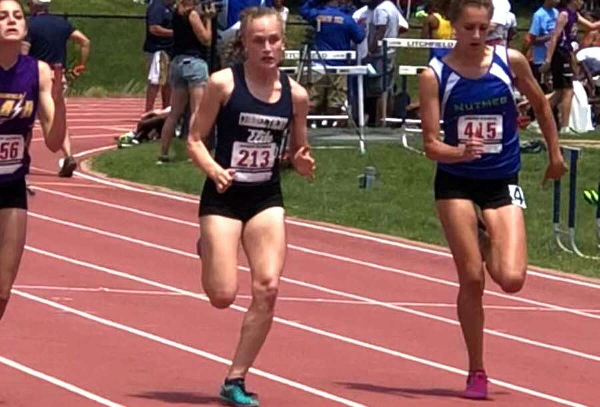 Zoey Bennett of New Canaan qualified for the upcoming USATF regional championships in three events.