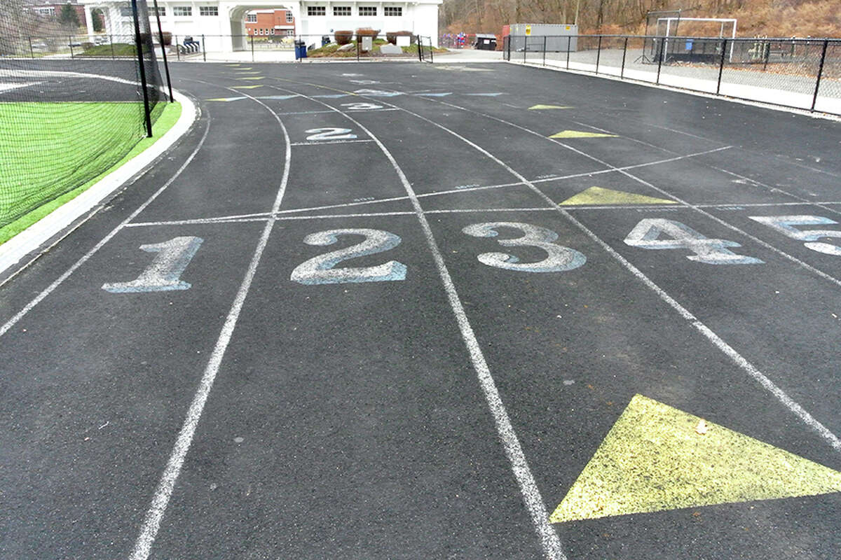 Because the Wilton High School track is in such disrepair, the Wilton Track Association is seeking funds to replace it. - Jeannette Ross