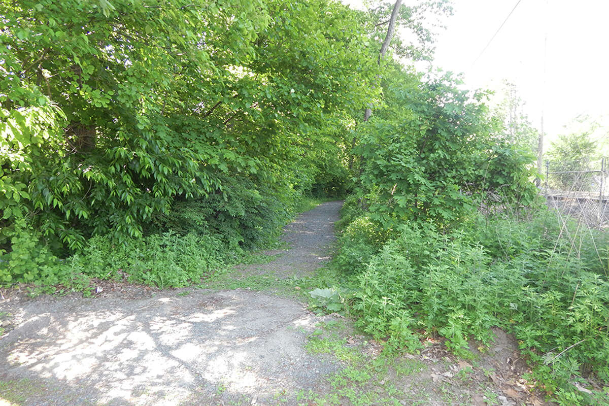 Trail from Wilton Train Station to Merwin Meadows. - Kendra Baker photo
