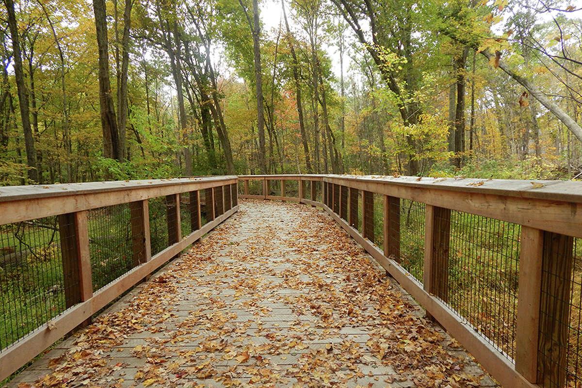 Norwalk River Valley Trail's Wilton Loop.-Kendra Baker photo