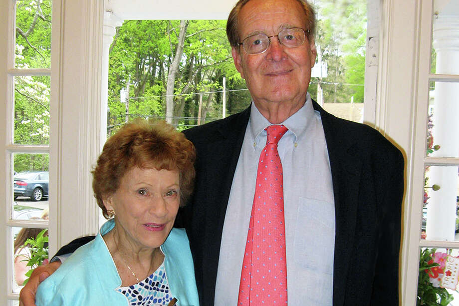 The late Buck Griswold with his wife, Lila.