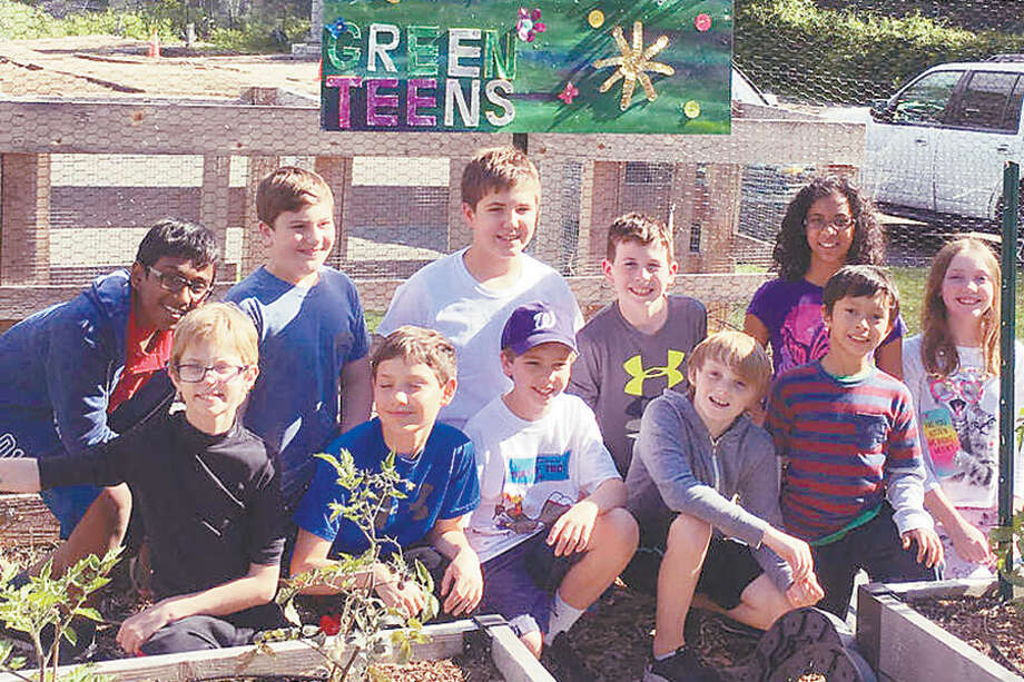 The Green Teens program attracts a group of students eager to learn about gardening and raising their own fruits and vegetables. — Contributed photo