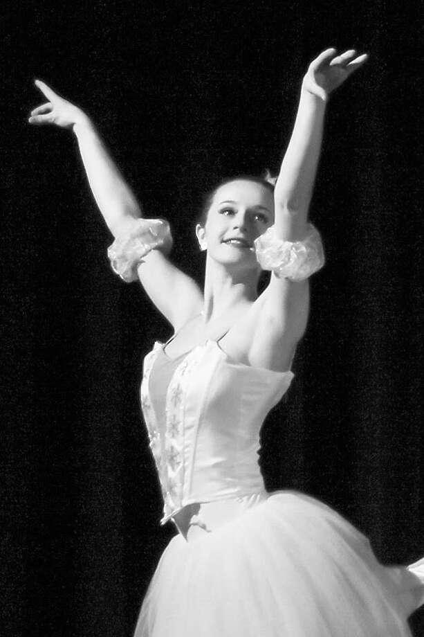 Rachel Castaldi in the Ridgefield School of Dance's Nutcracker last year. — Steve White photo