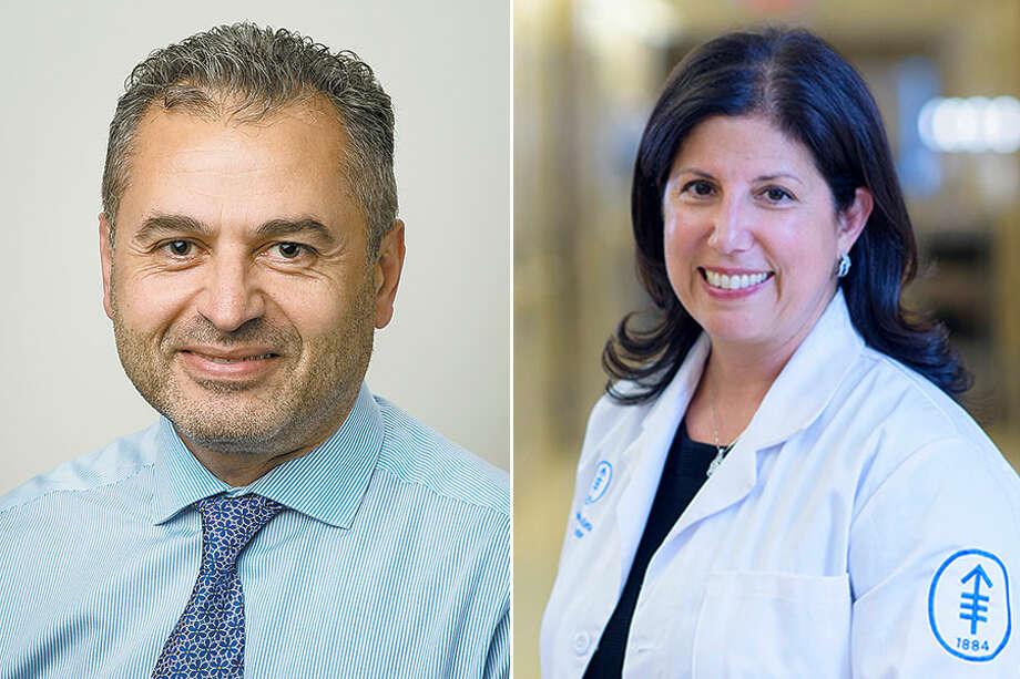 Dr. George Zahrah and Dr. Linda T. Vahdat