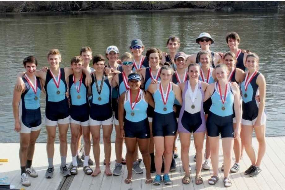 GMS rowers took home multiple medals at last month's annual Saratoga Invitational Regatta.