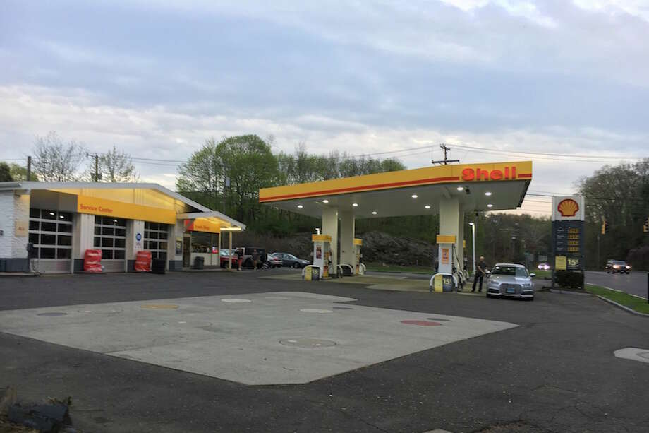 The Shell station on Route 7.