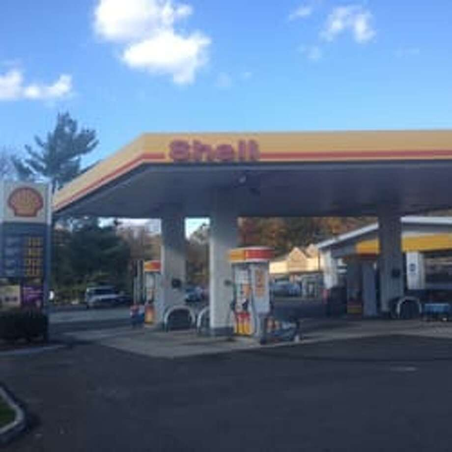 The Shell station on Route 7 where a winning lottery ticket was purchased.