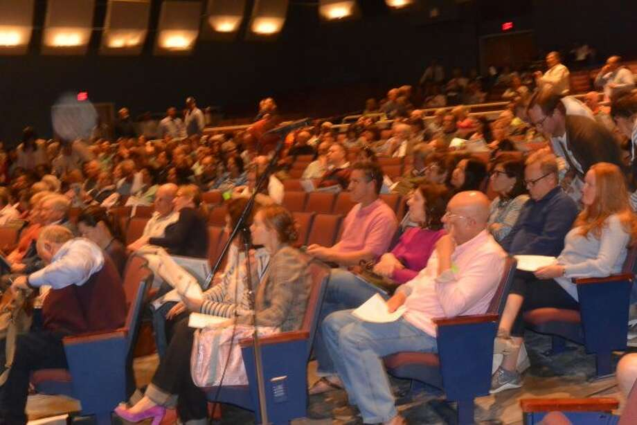 A large crowd attended the Annual Town Meeting. — Tony Spinelli photo