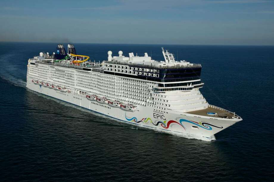 The brand-new Epic, the latest megaship to debut for Norwegian Cruise Lines. Photo: Norwegian Cruise Lines
