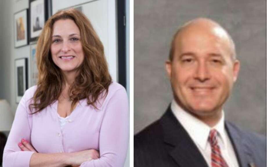 Susan Senator and Michael Beloff.